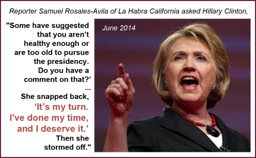 2014_06 Hillary says it's her turn