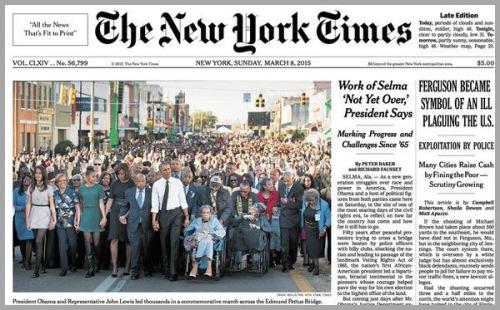 2015_03 08 NYT spinning - Sunday above fold