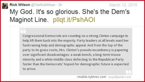 2015_03 12 Rick Wilson - Hillary Maginot Line