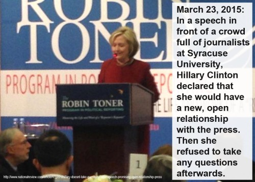 2015_03 23 Hillary and press
