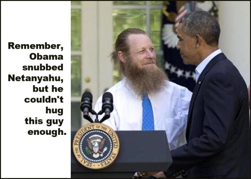 2015_03 Obama Netanyahu Bergdahl Daddy