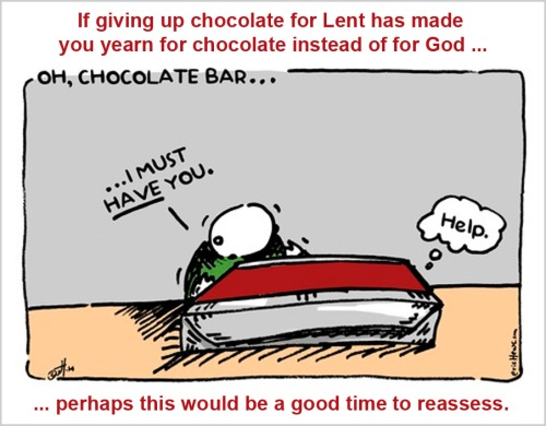 Chocolate and Lent
