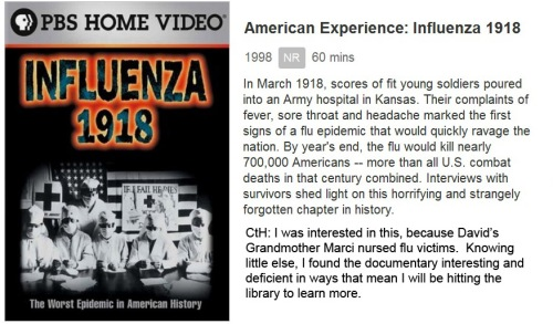 DOC American Experience Influence 1918