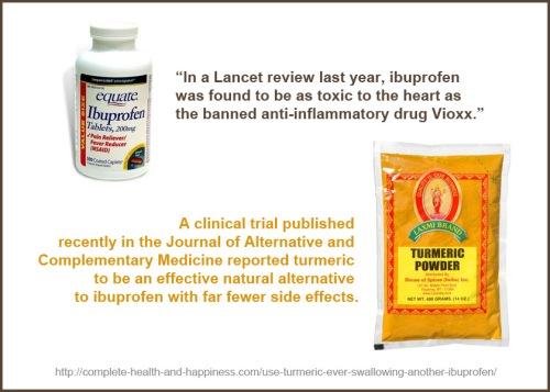 Ibuprofen vs Turmeric