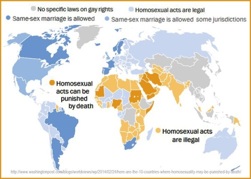 Laws about homosexuality