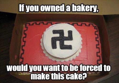 Nazi cake