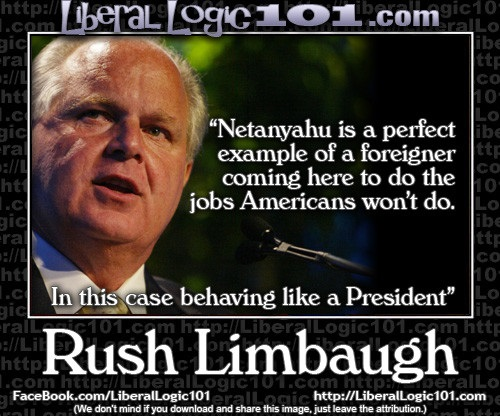 Rush on Netanyahu