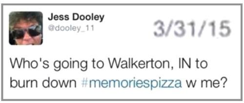 2015_03 31 Tweet burn down pizza