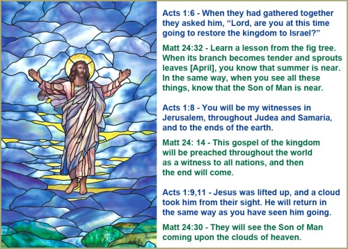 Ascension and Second Coming