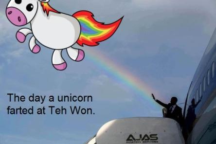 BHO Unicorn fart