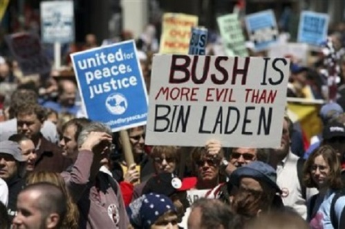 Bush is more evil than bin Laden