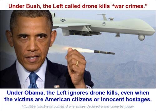 DRONE KILLS Bush v Obama