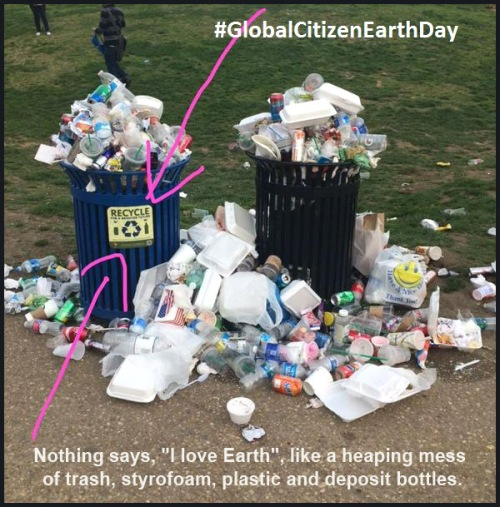 Global Citizen Earth Day recycle