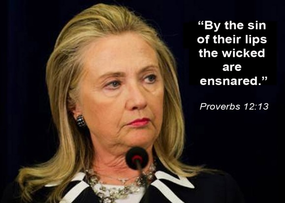HILLARY By the sin of their lips