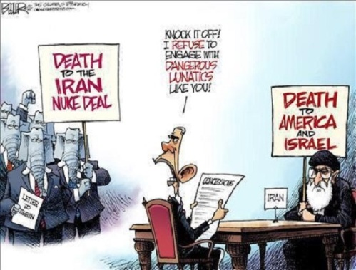 Obama's foreign policy toon