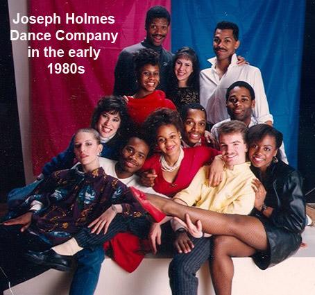 Robin Pierucci w Joseph Holmes Dance Company