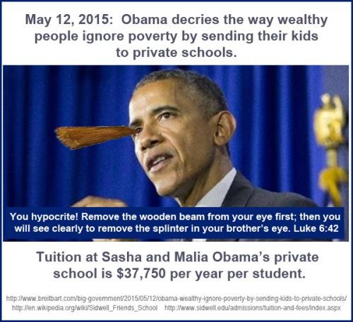 2015_05 12 Obama decries rich using private schools