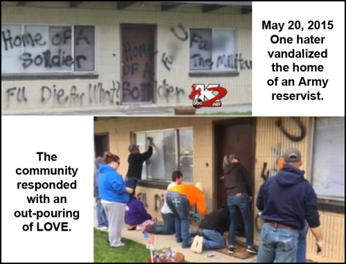 2015_05 20 One hater, community of love