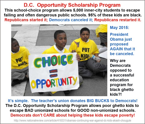 2015_05 Obama tries to cancel DC scholarships AGAIN
