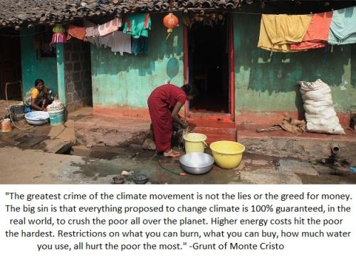 Climate alarmist crime