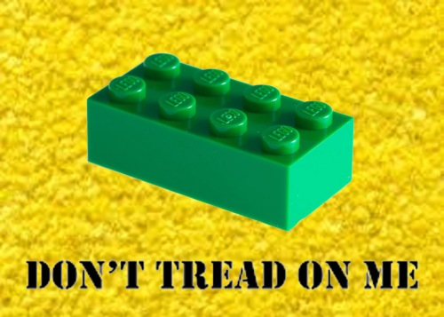 LEGO Don't Tread On Me
