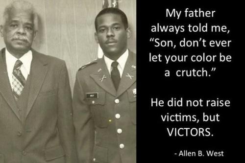 West Victors not Victims