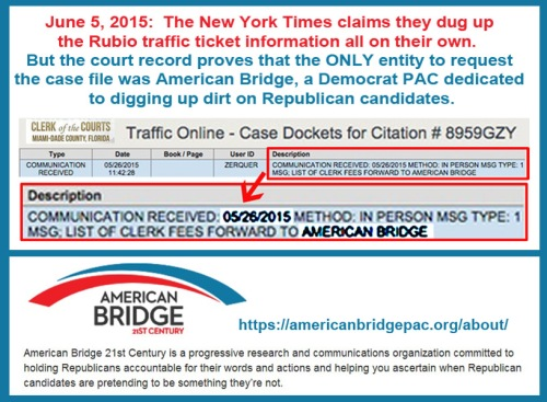 2015_05 26 Rubio traffic tix pulled by American Bridge