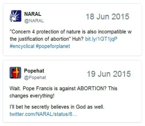 2015_06 18 NARAL on encyclical