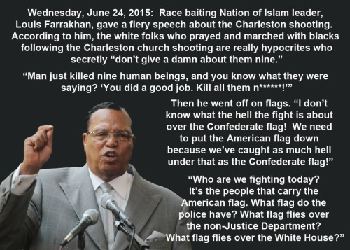 2015_06 24 Farrakhan race baiting and flag