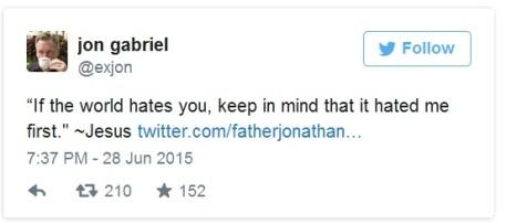 2015_06 28 Father Jonathan tweets