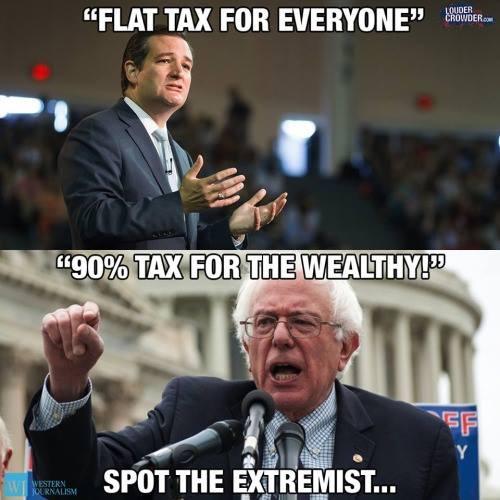 2015_06 Cruz vs Sanders on taxes