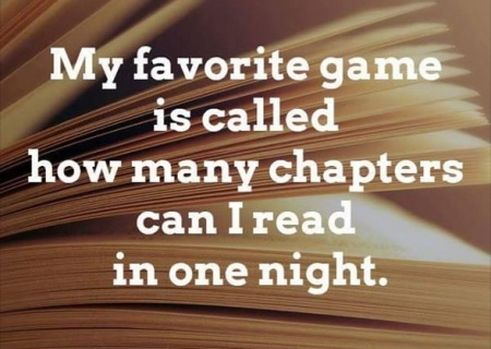 BOOKS my favorite game
