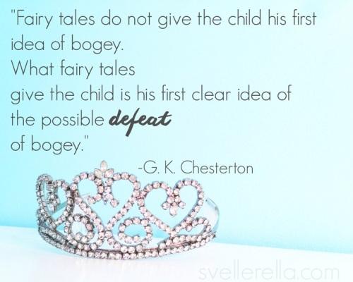 Chesterton on fairy tales