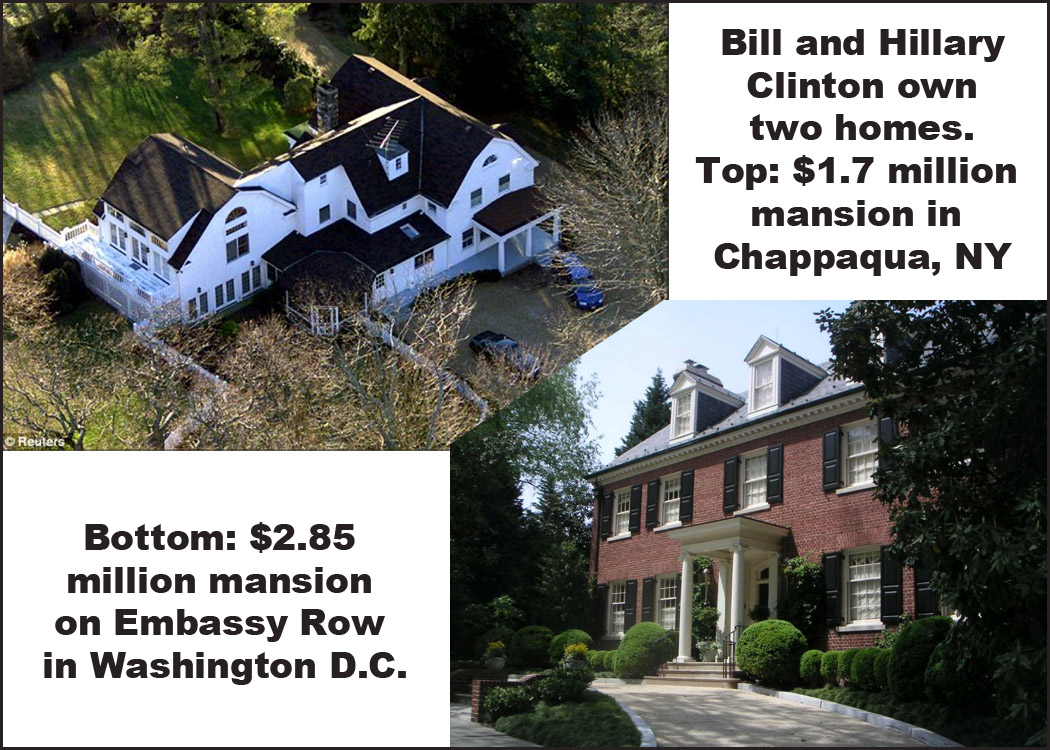 100 clinton chappaqua house clinton inspires storyline at c