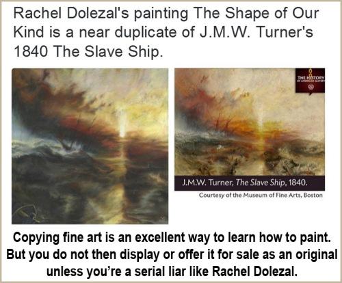 Dolezal's copyist painting