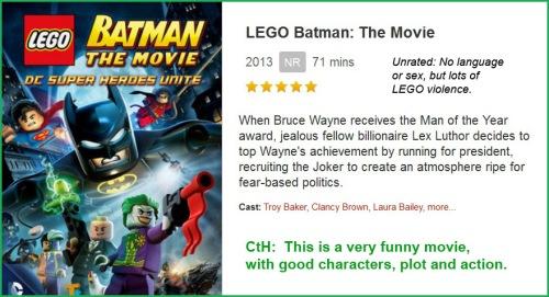 MOVIE LEGO Batman