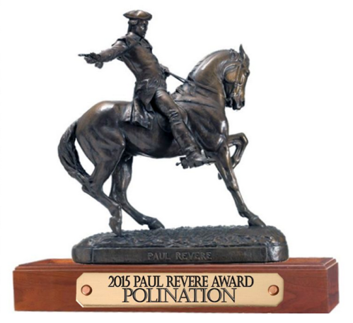 Paul Revere Award For PoliNation