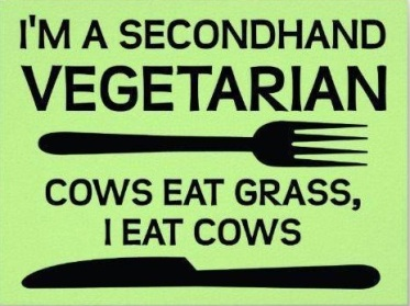 Second hand vegetarian