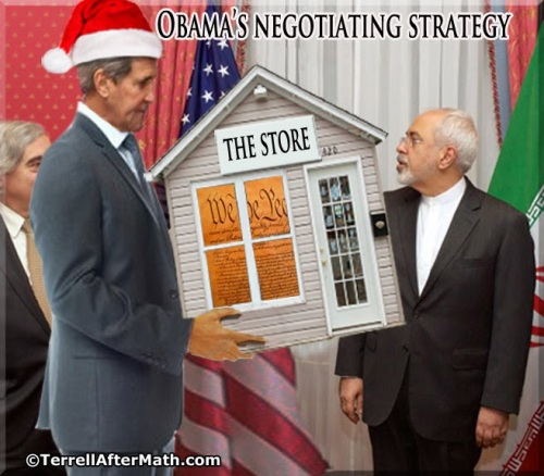 2015_07 13 Obama's negotiating strategy with Iran by Terrell
