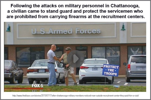 2015_07 17 Guy protects TN recruitment ctr