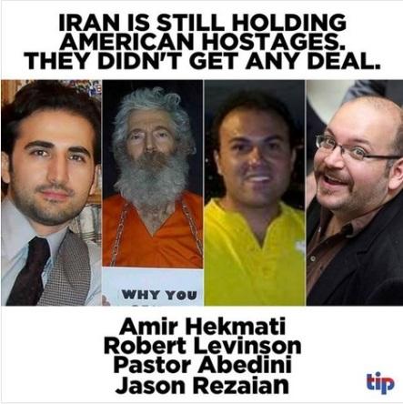 2015_07 Iran is still holding American hostage