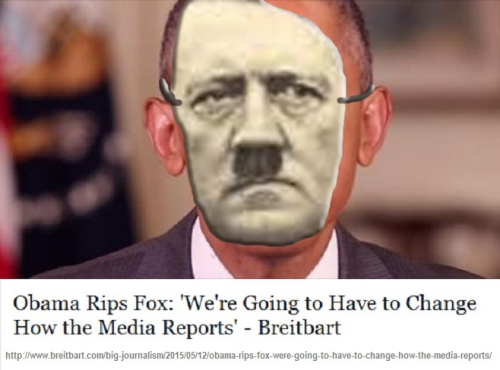 2015_07 Obama rips Fox News - Hitler 1938