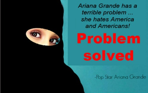 Ariana Grande's problem solved