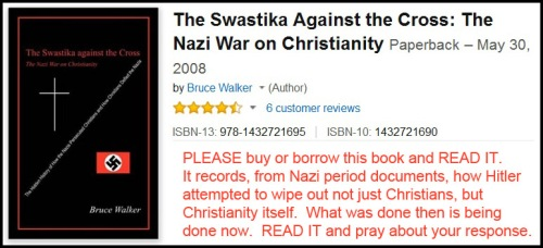 BOOK Swastika Against Cross