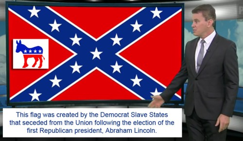 Confederate flag was created by Democrats