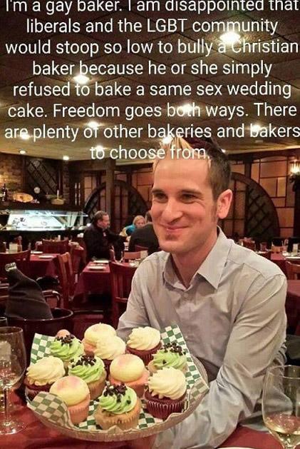 Gay baker