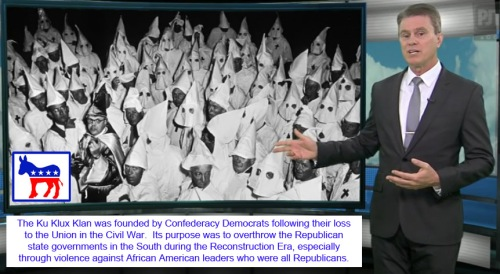 KKK founded by Democrats