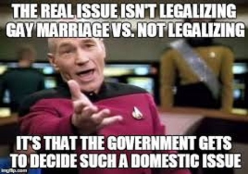 Marriage It's not in the Constitution