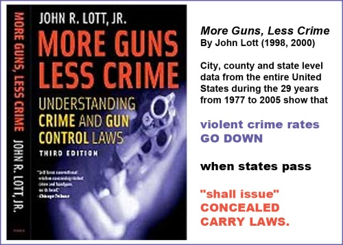 More Guns Less Crime