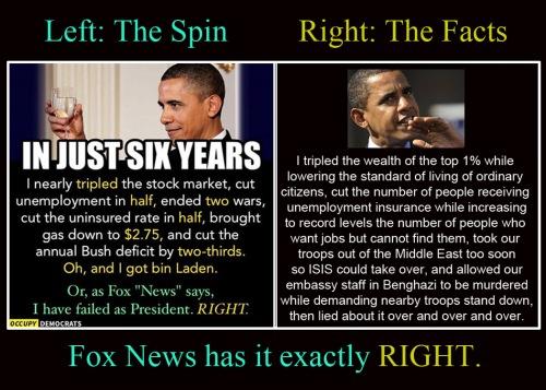 OBAMA Spin vs Truth